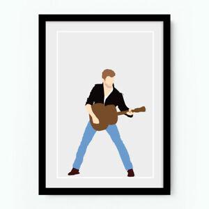 GEORGE MICHAEL Minimal Poster Music Print