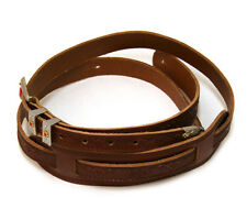 Genuine Gretsch Tooled Walnut Leather Cowboy Strap for Guitar/Bass 922-0022-000