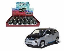 KINSMART 1/32 DISPLAY BMW I3 DIECAST CARS BOX SET 12 PIECES (4 color) 5380D