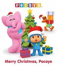 Merry Christmas, Pocoyo (Pocoyo) (Glitter Board Book)-ExLibrary