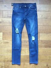 CHEAP MONDAY JEANS 34/32 CARBON BLUE STYLE TIGHT Was £59 Now £29 Or Best Offer