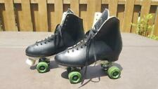 "11.5"" Men's Vintage Size 12.5 ? Dominion Canada Marathon Ii Roller Skates Black"