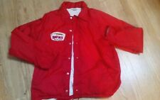 Vintage Original Rapala By Normark Fishing Jacket W/  Front Lure Patch Buttonup