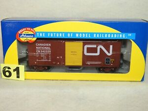 ATHEARN HO SCALE #70137 CANADIAN NATIONAL 40' MODERIZED BOX CAR NEW