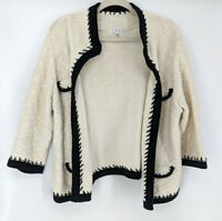 CAbi Socialite Open Front Knit Sweater Cardigan Women's Size XL Style 297