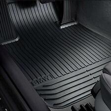 Original BMW Satz Allwetter Fußmatten Gummimatten vorn 5er F10/F11 - 51472153725