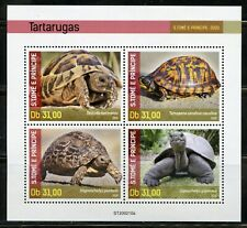 SAO TOME 2020 TURTLES SHEET MINT NEVER HINGED
