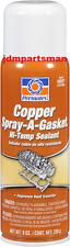 Permatex  Copper SPRAY-A-GASKET 9 oz Hi Temp Sealant 80697