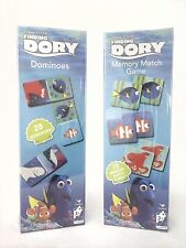 Finding Dory Nemo Disney Pixar Dominoes Mem Game Cardinal STOCKING STUFFER NIB