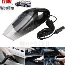 Portable 12V 120W Wet Dry Car Vehicle Mini Handheld Vacuum Dirt Dust Cleaner BLK