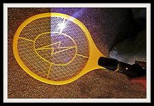 Hand Held Bug Zapper 1500 Volt - Strongest one Available Takes 2D-Cell Batteries