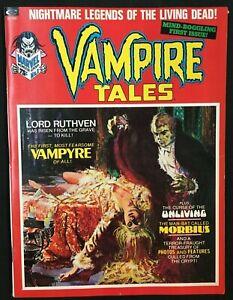 VAMPIRE TALES #1 MORBIUS APPEARANCE VF+