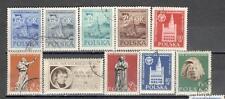 R8982 - POLONIA 1955 - SERIE COMPLETA FESTA NAZIONALE - VEDI FOTO