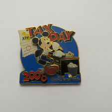 Disney WDW Tax Day 2008 Mickey Mouse Pin