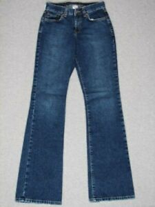 JH21448 USA **LUCKY** PEANUT PANT LOWER RISE FLARE WOMENS JEANS sz0/25