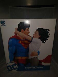 Rare DC Designer Series Superman & Lois Lane Statue Toys LE 3000 Gary Frank New