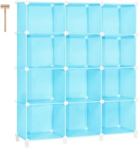 TomCare Cube Storage 12-Cube Bookshelf Closet Organizer Storage Shelves New