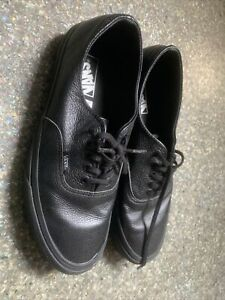 Vans Leather Size 7