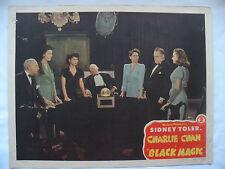 Black Magic Charlie Chan Sidney Toler 1944 movie lobby card #4 #44/304 11 X 14