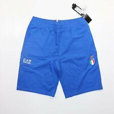 Emporio Armani Italia Blue Shorts