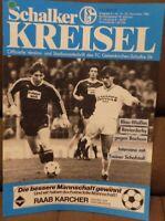 FC Schalke 04 + Schalker Kreisel Magazin 22.11.1986 Bundesliga VfL Bochum /589