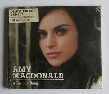 AMY MACDONALD - A CURIOUS THING - DELUXE EDITION  - 2 CD 2010 NUOVO E SIGILLATO