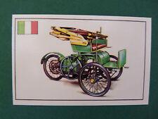 N°23 BERNARDI ITALIE ITALIA ITALY 1894 PANINI 1972 HISTOIRE DE L'AUTOMOBILE