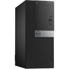 Dell Optiplex 7050 Mini Tower Desktop Core i5-7500 Up to 3.8GHz 8GB 240GB SSD