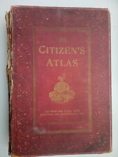 More details for edited by j. g. bartholomew citizen's atlas of the world - colour maps 1890