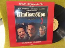 LP BO OST - L'INDISCRÉTION - ERIC DEMARSAN - PIERRE LARY- GENERAL MUSIC 803035
