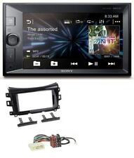 Sony 2DIN MP3 USB Bluetooth AUX Autoradio für Nissan Navara (ab 16)