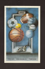Grambling State Tigers--1987-88 Basketball Pocket Schedule--Central Bank
