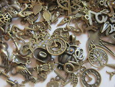 60 gr antique tibetan style bronze pendants charms mix steampunk sale uk