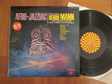 Herbie Mann – Afro Jazziac -  UK Roulette LP 1969 ~ EX/VG+