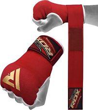 RDX Boksbandage Hand Wraps Binnenste Handschoenen MMA Fitness Rood XL NL