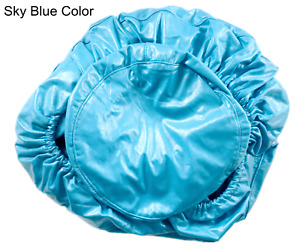 Dental Sky Blue Chair Cover Seats PU Leather Waterproof Protective Case Quality
