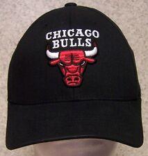 Embroidered Baseball Cap Sports NBA Chicago Bulls NEW Reebok elastic headband