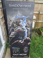 """Middle Earth Shadow of War: 5ft 6"""" folding Cardboard Shop Display"""