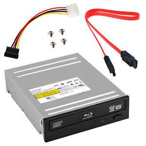 Internal SATA Blu-ray Player Desktop PC Drive BD Combo DVD CD Burner SATA Cable