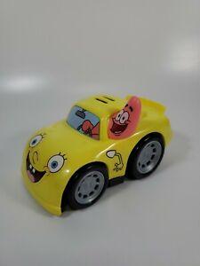 Fisher-Price Shake N Go SpongeBob & Patrick Race Car *READ* 2012 Mattel