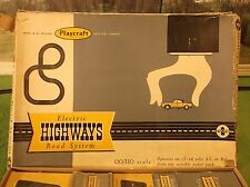 ITB Vintage Playcraft Highways T Jet Slot Car Race Track Set
