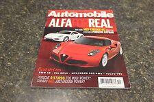 AUTOMOBILE ALFA FOR REAL DECEMBER 2013 VOL.28 #9 9248-1 [BOX F] #779
