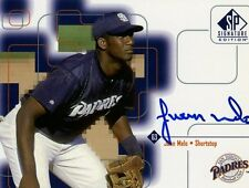 Juan Melo 1999 UD SP Signature Edition Autograph Certified On Card Auto