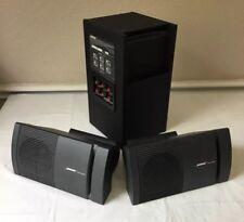 Bose Acoustimass HT Sub Subwoofer Surround Speaker Speakers Pair