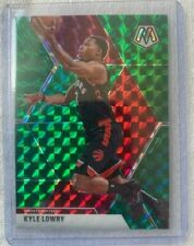 2019-20 Panini Mosaic Green Prizm - Kyle Lowry #29 Basketball Card Toronto NBA