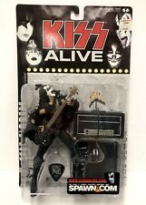McFarlane ALIVE 2000 KISS GENE SIMMONS Action Figure + Guitar Pick Sealed NEW