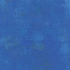 Moda tessuto GRUNGE BLU ROYAL-PER 1/4 METRI