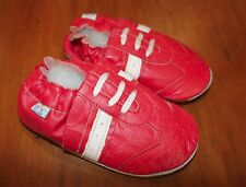 Soft Red Leather Baby Shoes Toddler Shoes Walker NEW 18-24 Months FREE POST