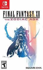 Final Fantasy Xii The Zodiac Age Nintendo Switch Pre-Order