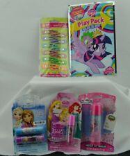 Stocking Stuffer Gift Bag Lot Frozen Hatchimal My Little Pony Lip Balm Hair Clip